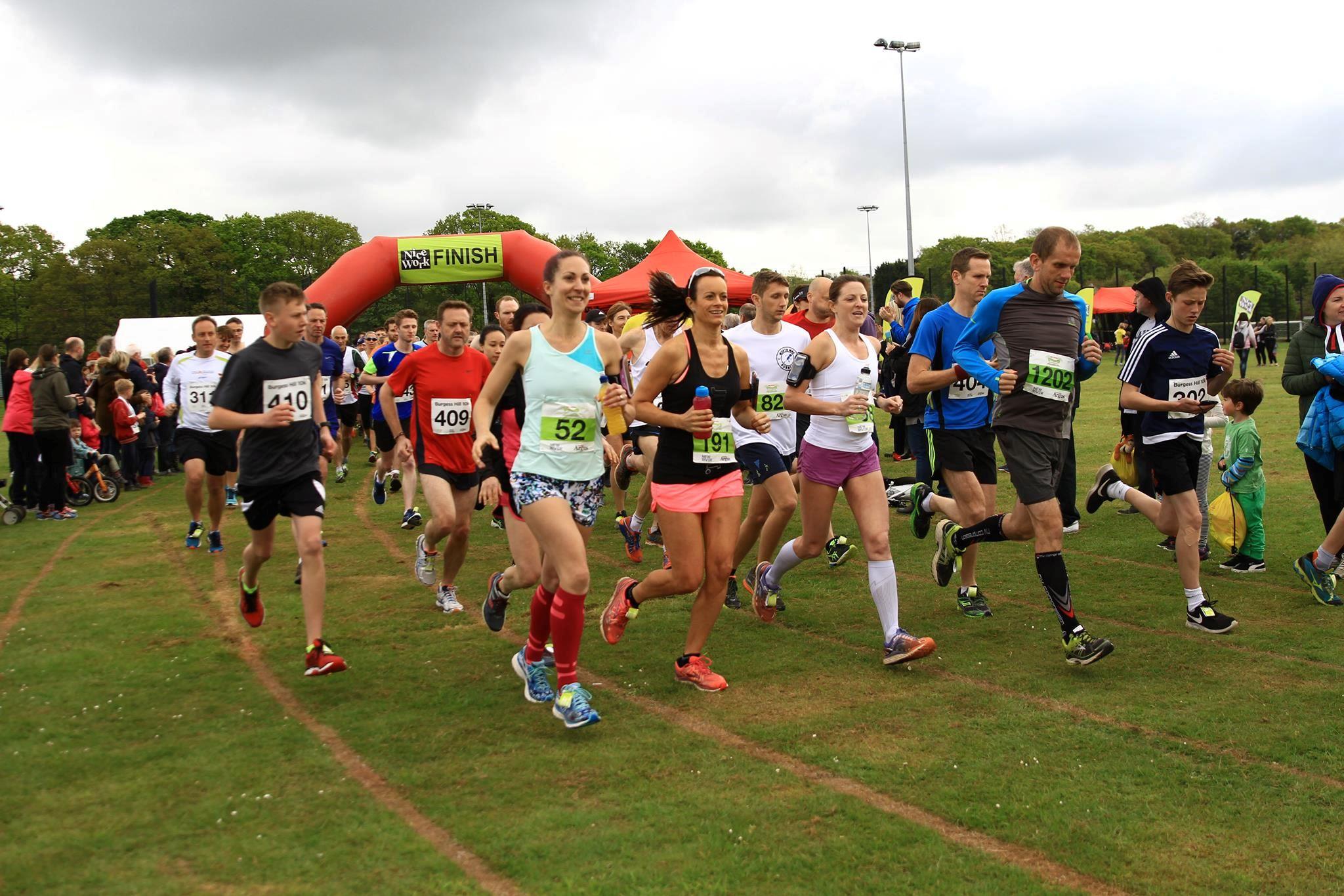 Alles over de Mid Sussex Marathon Weekend en hoe jij er aan mee kunt doen