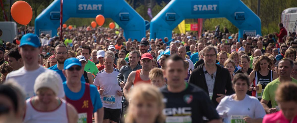 Alles over de Milton Keynes Marathon en hoe jij er aan mee kunt doen