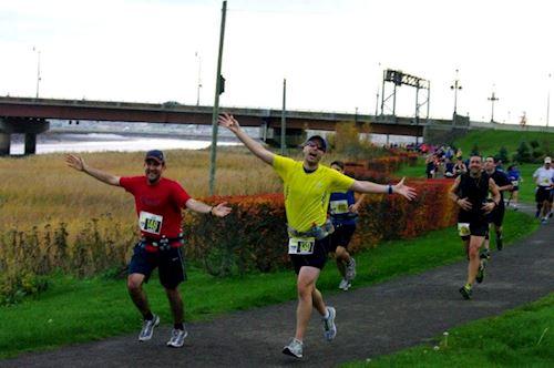 Moncton IGT Legs for Literacy Marathon