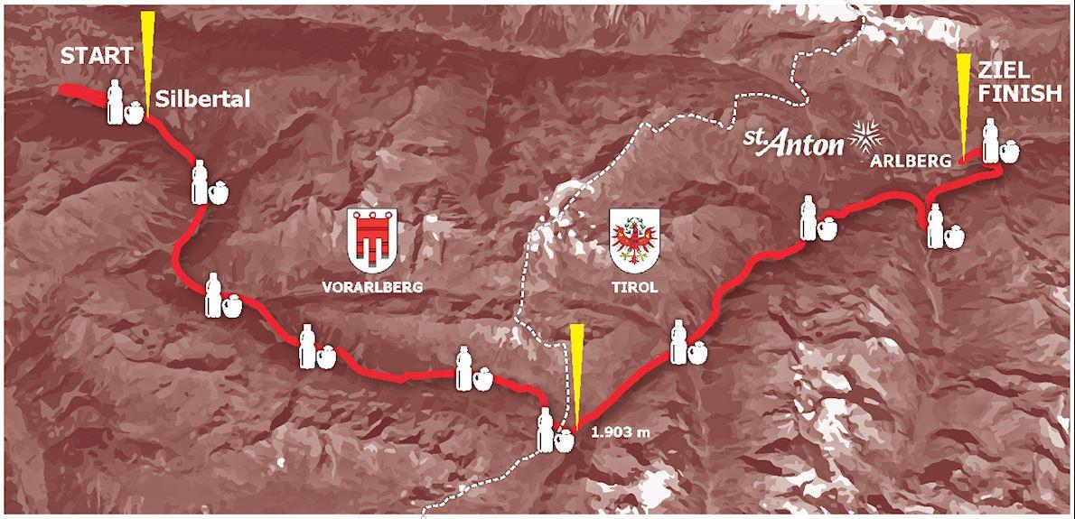 Montafon Arlberg Marathon ITINERAIRE