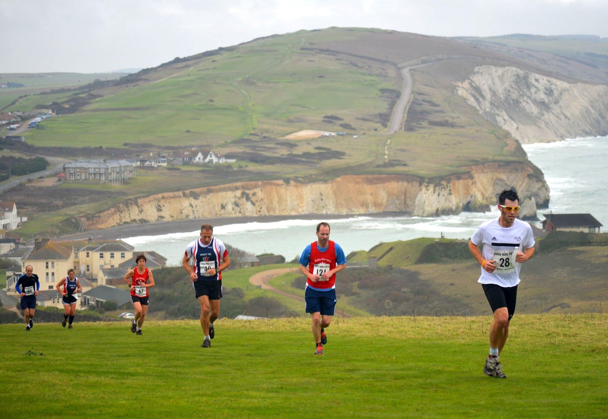 needles cross country half marathon