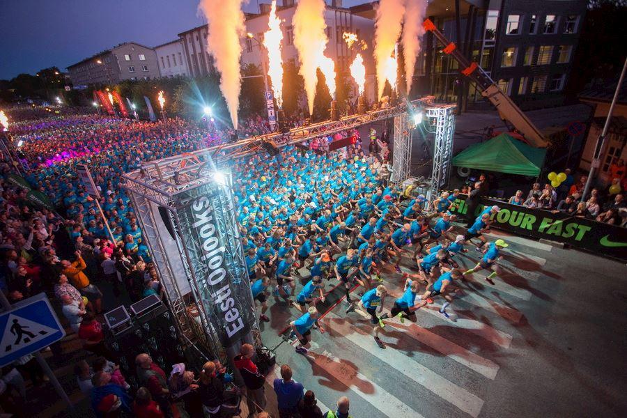 night run estonia tallinn
