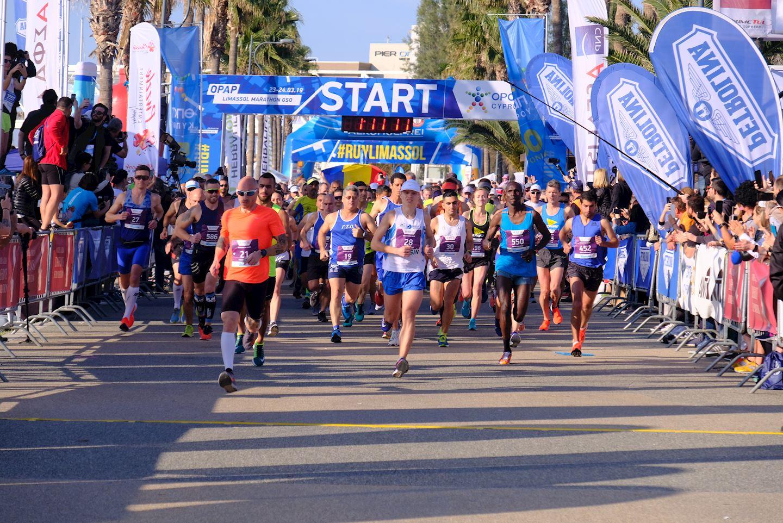 opap limassol marathon 2021
