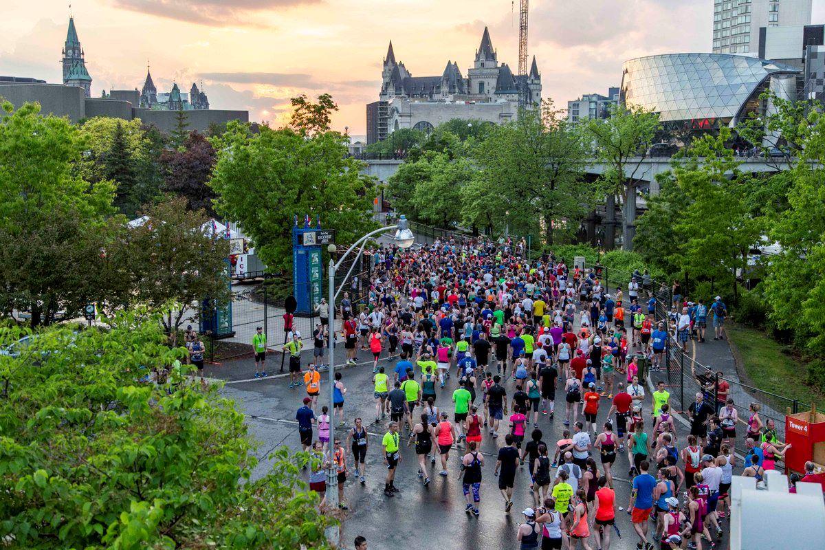 Alles over de Scotiabank Ottawa Marathon en hoe jij er aan mee kunt doen