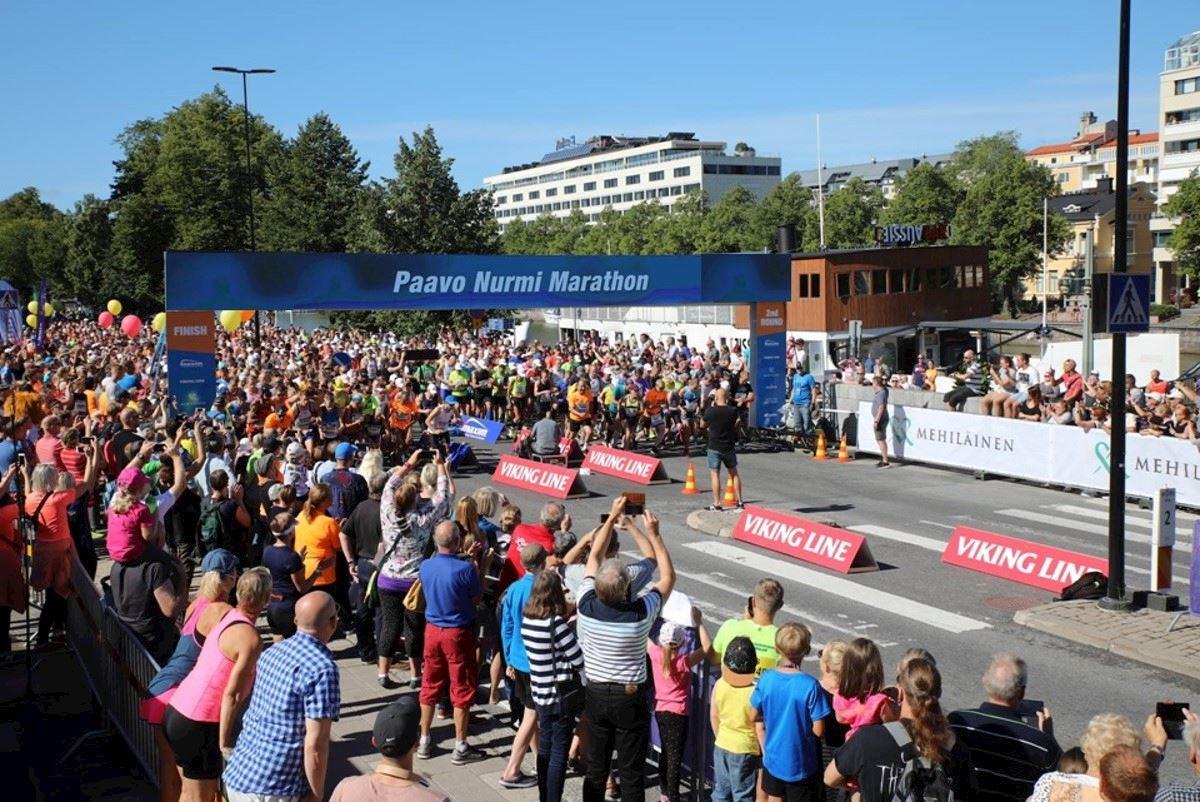 paavo nurmi marathon finland