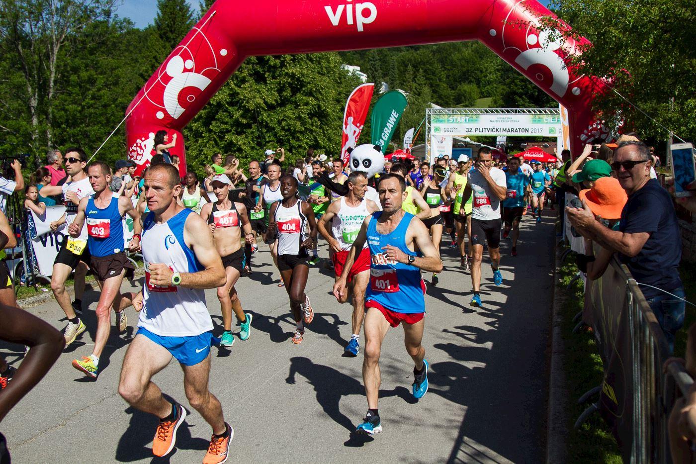 Alles over de Plitvice Lakes Marathon en hoe jij er aan mee kunt doen