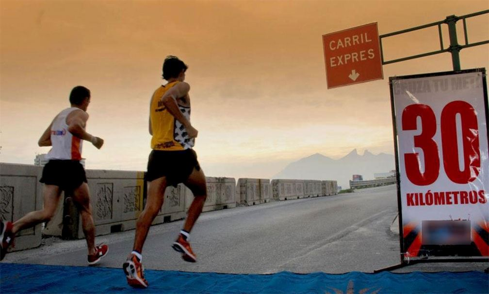 powerade monterrey marathon