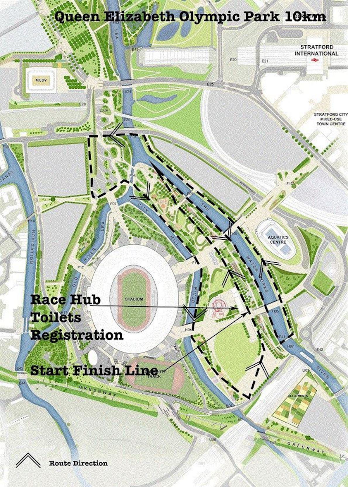 The Mornington Chasers Regents Park Grand Prix 10K Winter Series - Race 4 Mappa del percorso