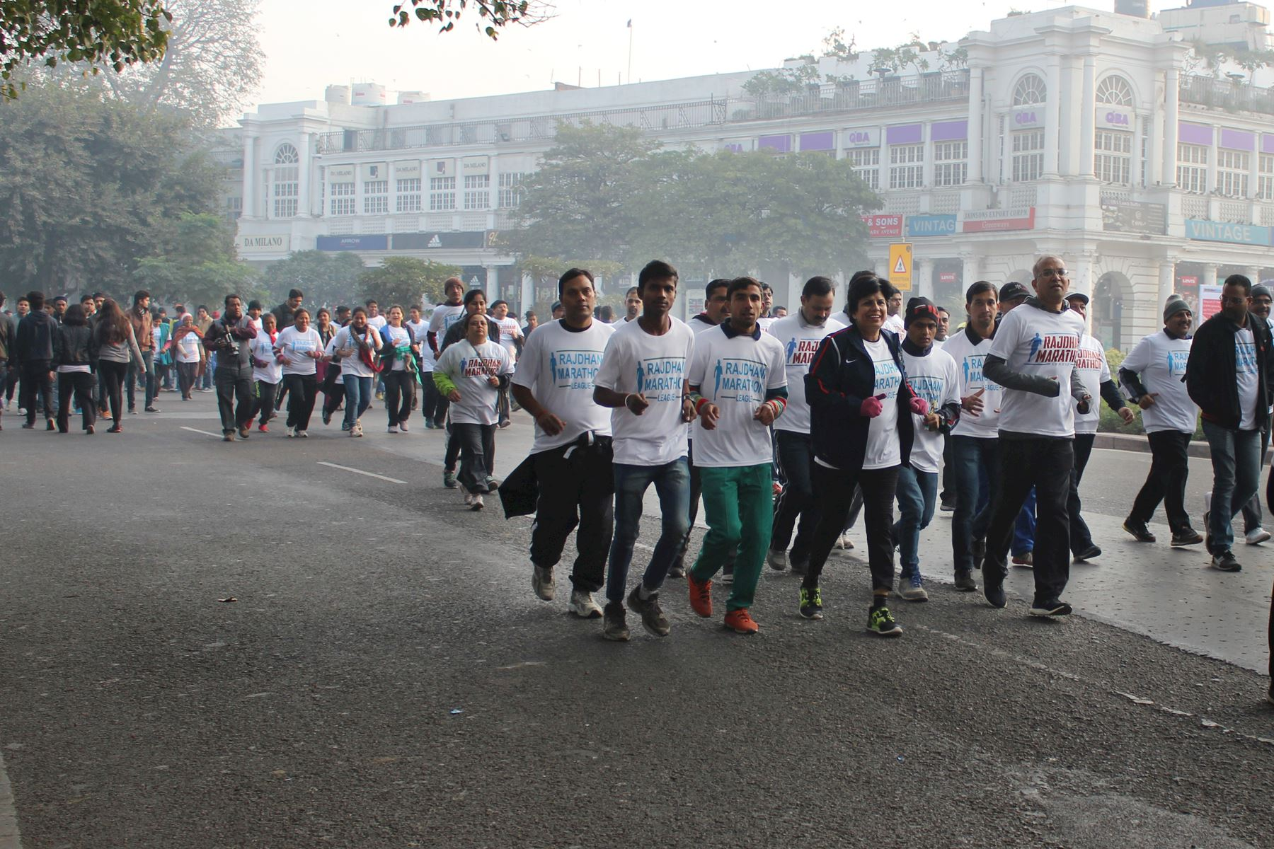 rajdhani marathon league