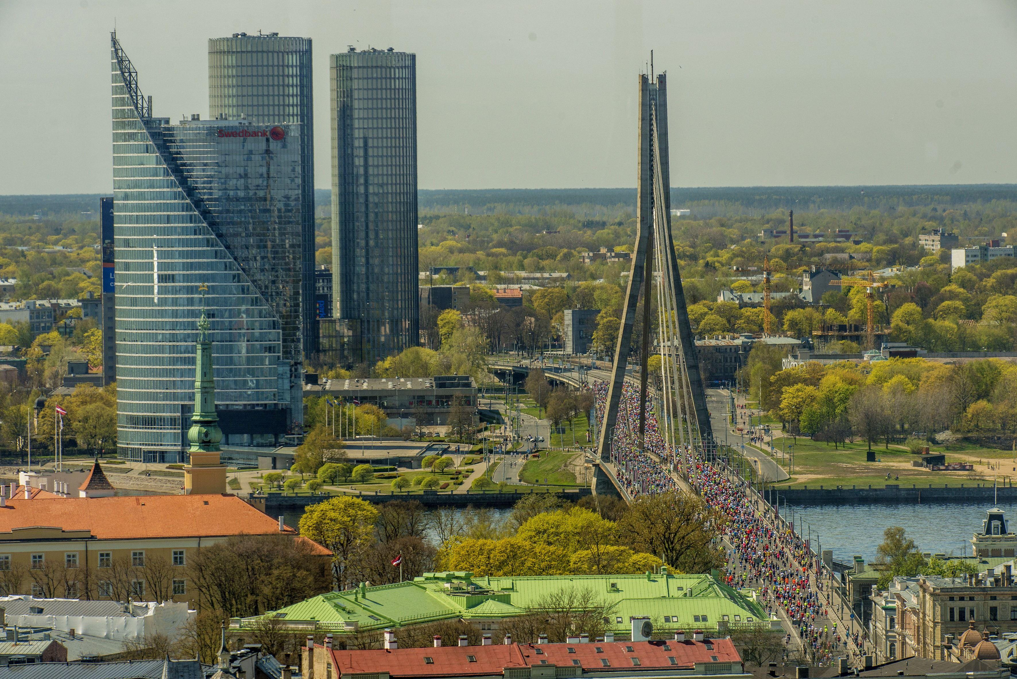 Alles over de Riga Marathon en hoe jij er aan mee kunt doen