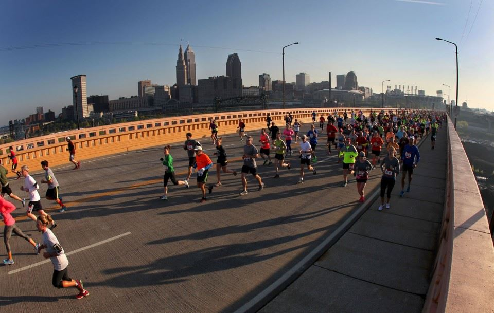Alles over de Rite Aid Cleveland Marathon en hoe jij er aan mee kunt doen