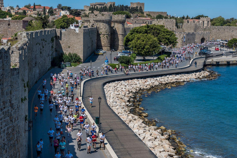 Alles over de Roads to Rhodes Marathon 14 April 2019 en hoe jij er aan mee kunt doen