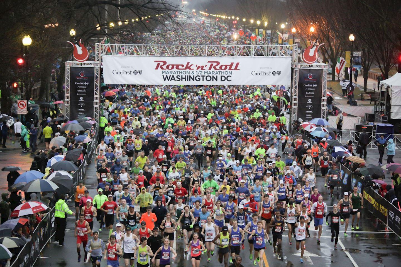 rock n roll dc marathon half marathon