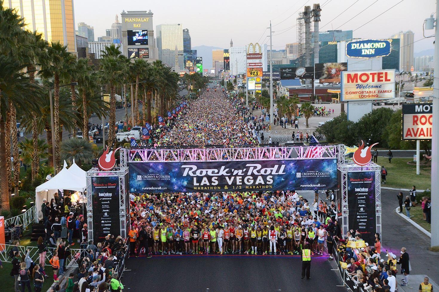 Alles over de Rock N Roll Las Vegas Marathon en hoe jij er aan mee kunt doen