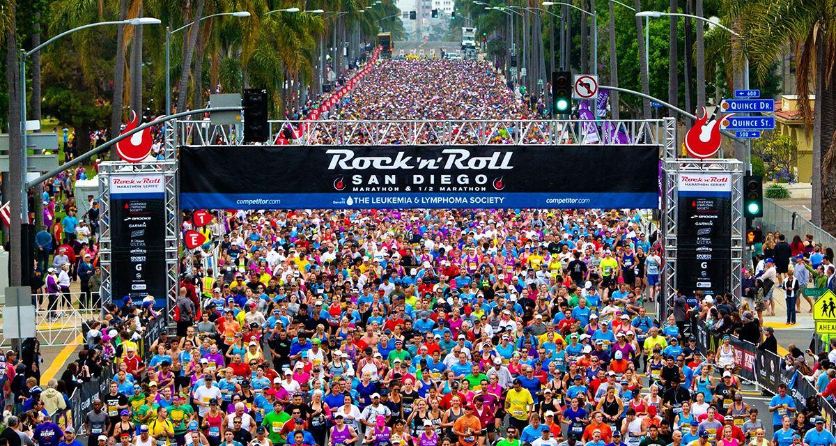 Alles over de Rock N Roll San Diego Marathon en hoe jij er aan mee kunt doen