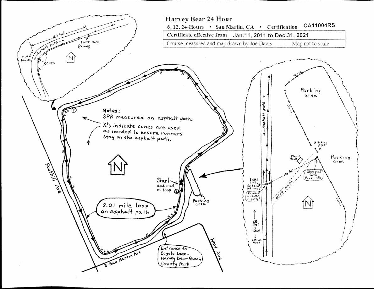 Run-de-Vous Route Map
