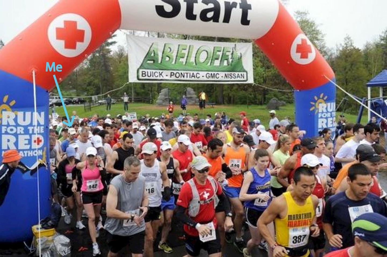 Alles over de Run For The Red Marathon en hoe jij er aan mee kunt doen
