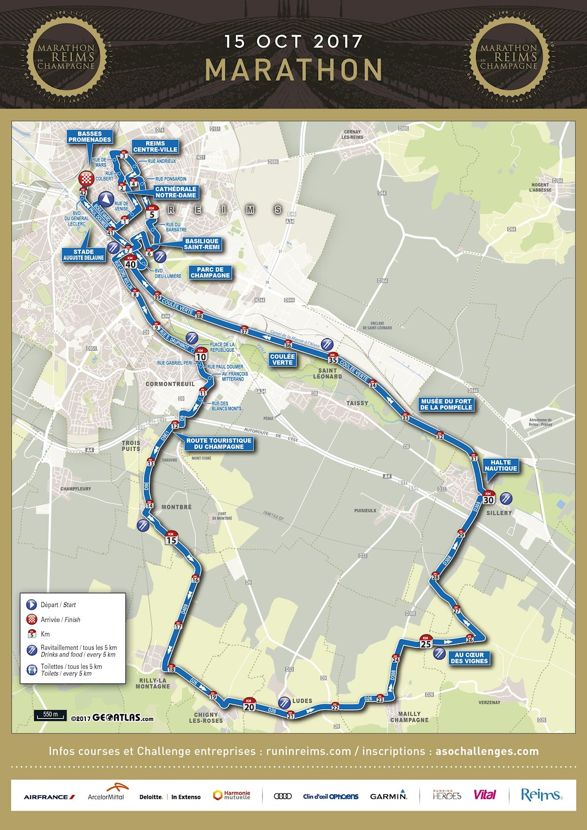 Run in Reims | World\'s Marathons