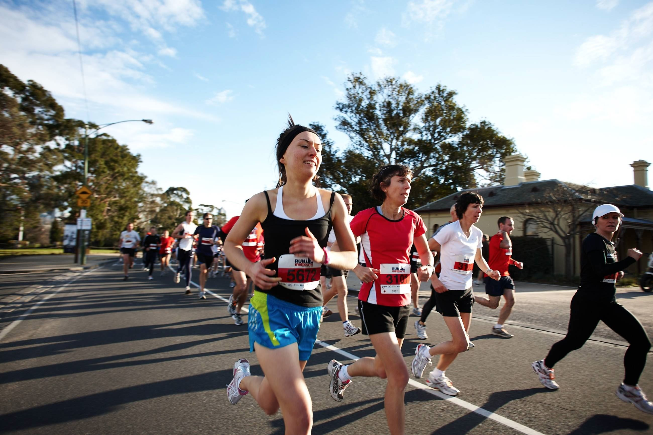 run melbourne brooks half marathon