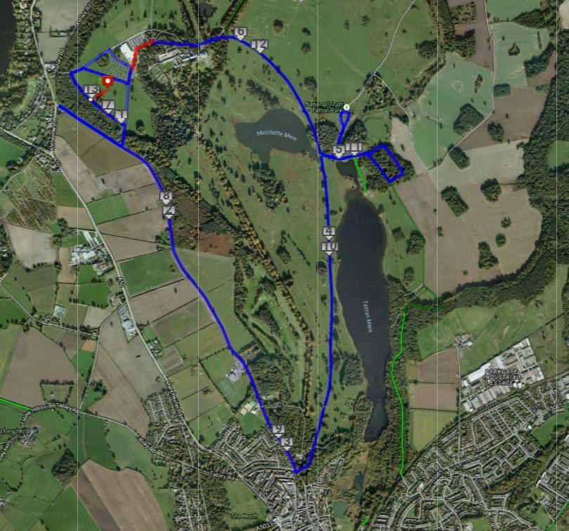 RunTatton Half Marathon ITINERAIRE