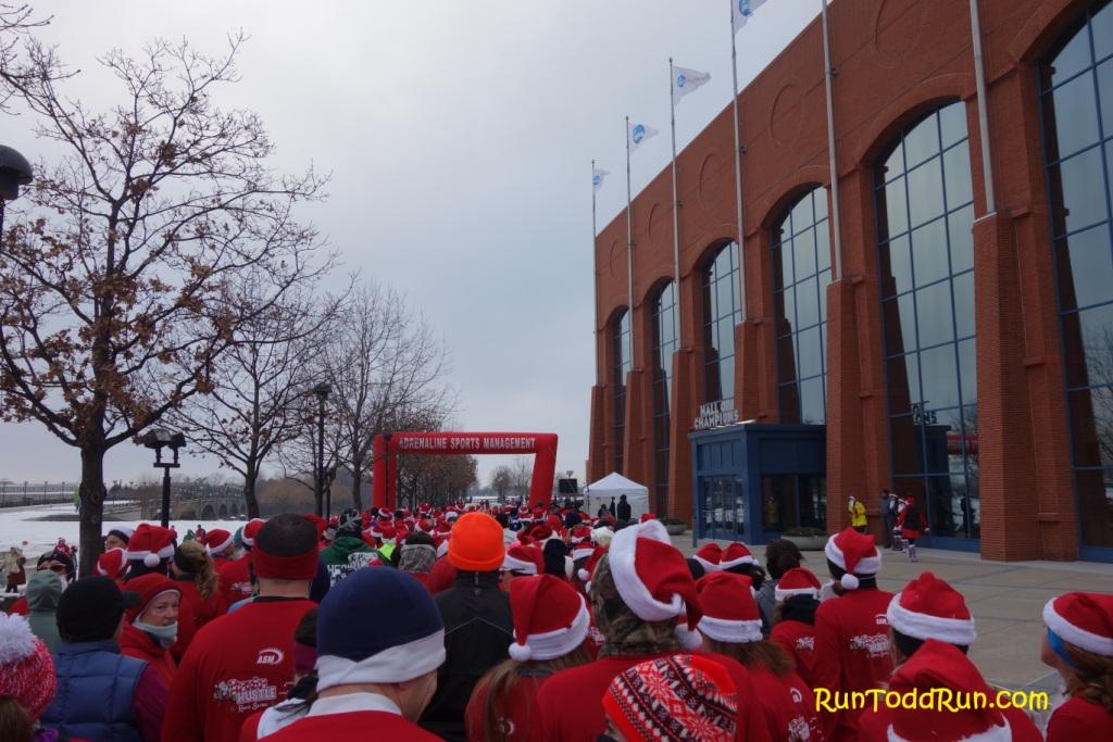 Alles over de Santa Hustle Indy 5k Half Marathon en hoe jij er aan mee kunt doen