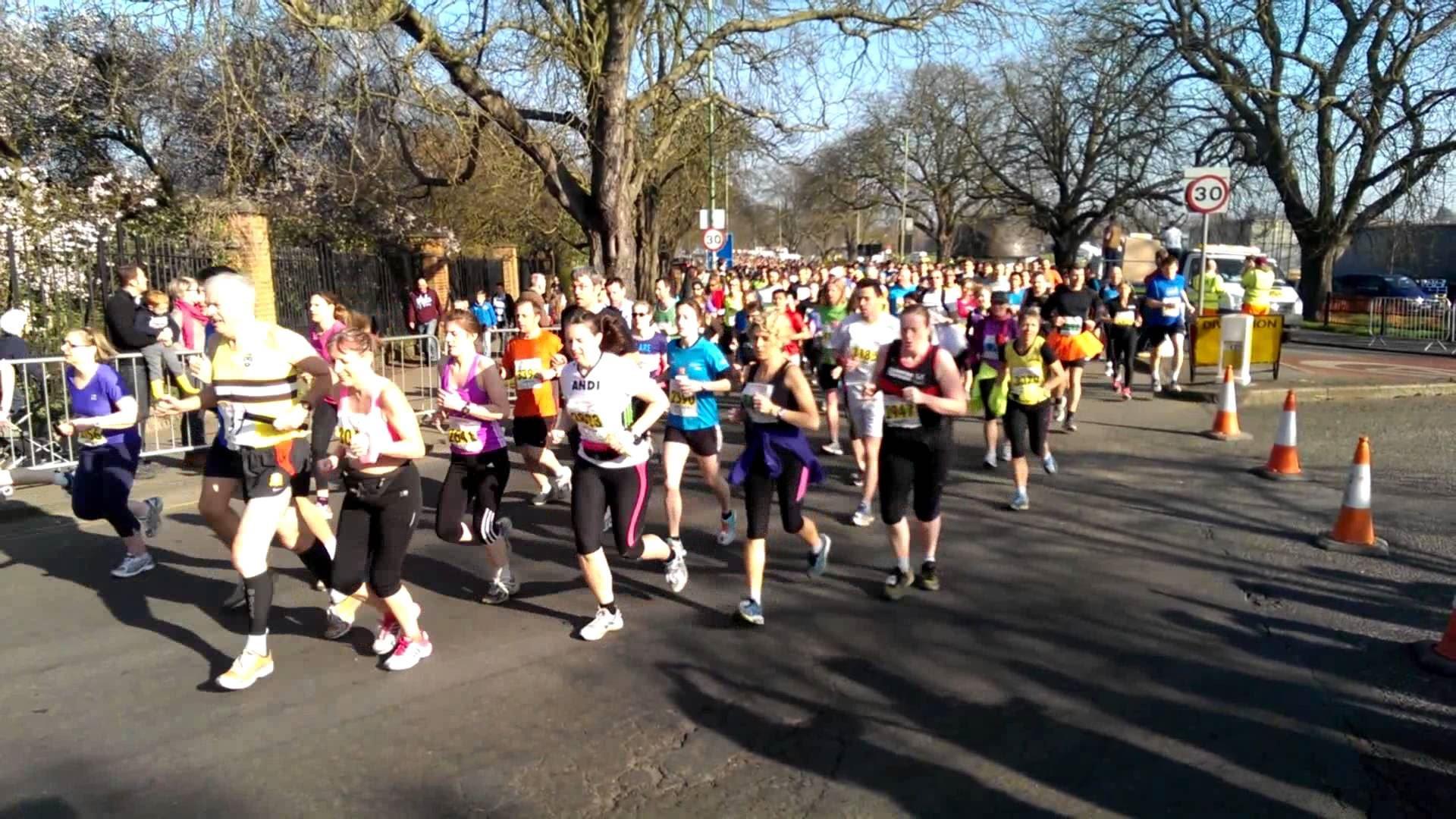 TTP Cambridge Half Marathon, Oct 17