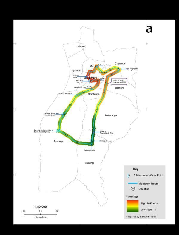 Serengeti Migration Marathon 2021 MAPA DEL RECORRIDO DE