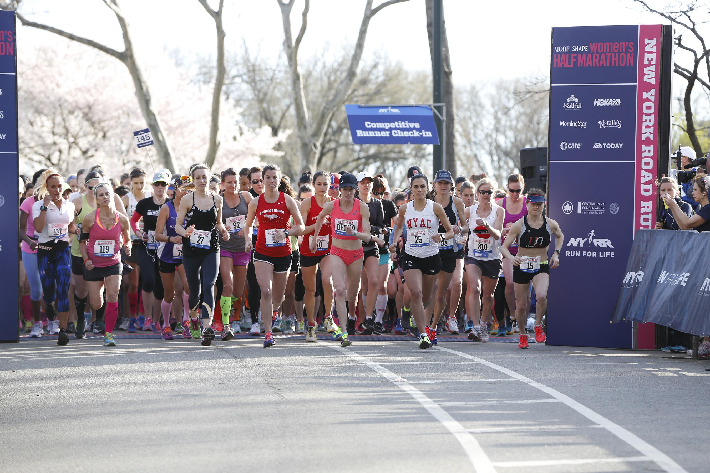 shape women s half marathon