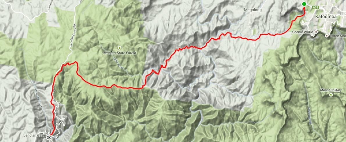 Sixfoot Track Marathon MAPA DEL RECORRIDO DE