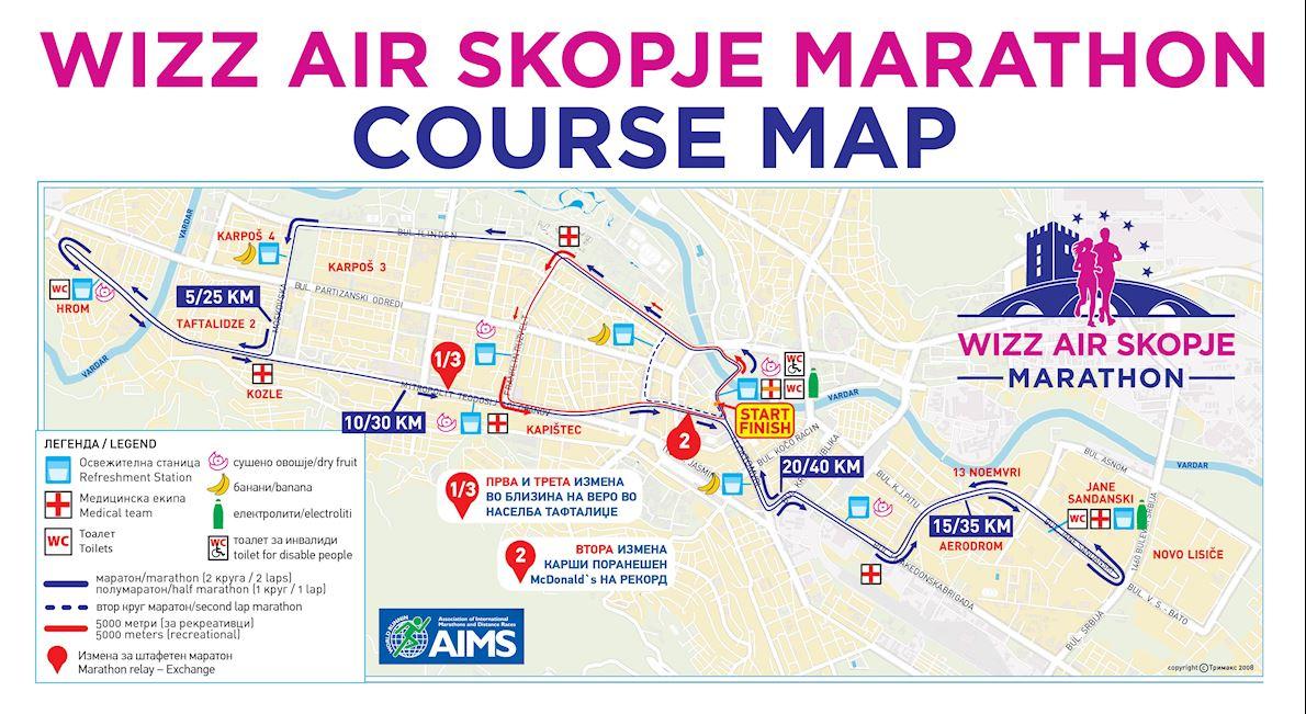 Wizz Air Skopje Marathon World S Marathons