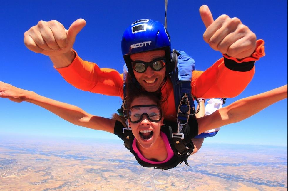 skydive ultra run
