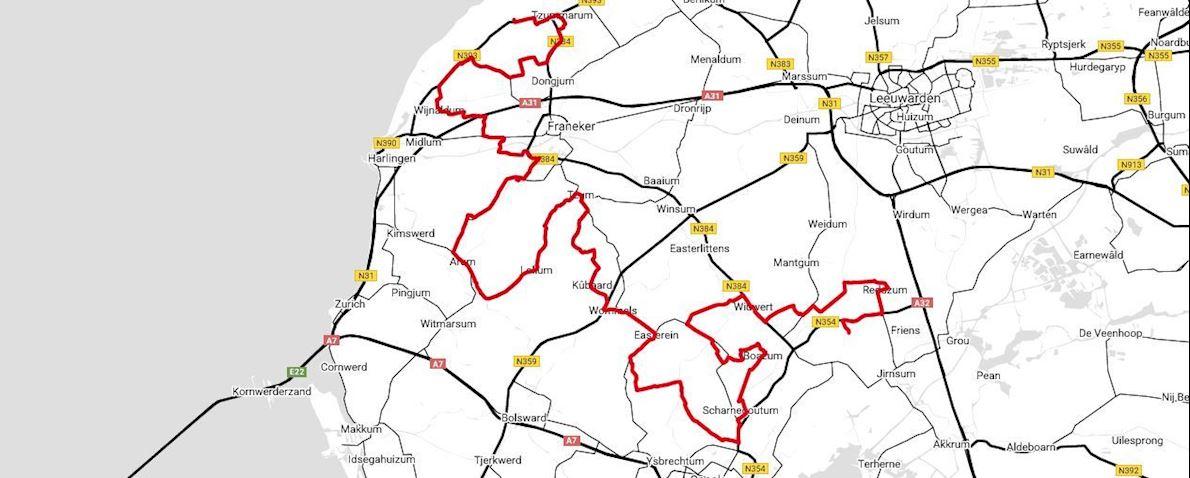 Slachtemarathon Route Map