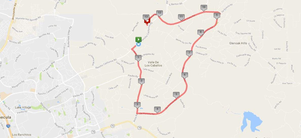 Temecula Wine Country Half Marathon Worlds Marathons