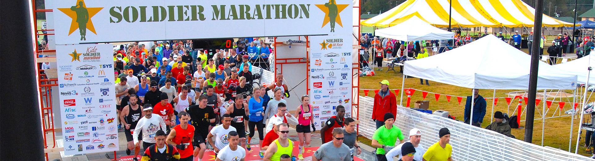 Alles over de Soldier Marathon en hoe jij er aan mee kunt doen