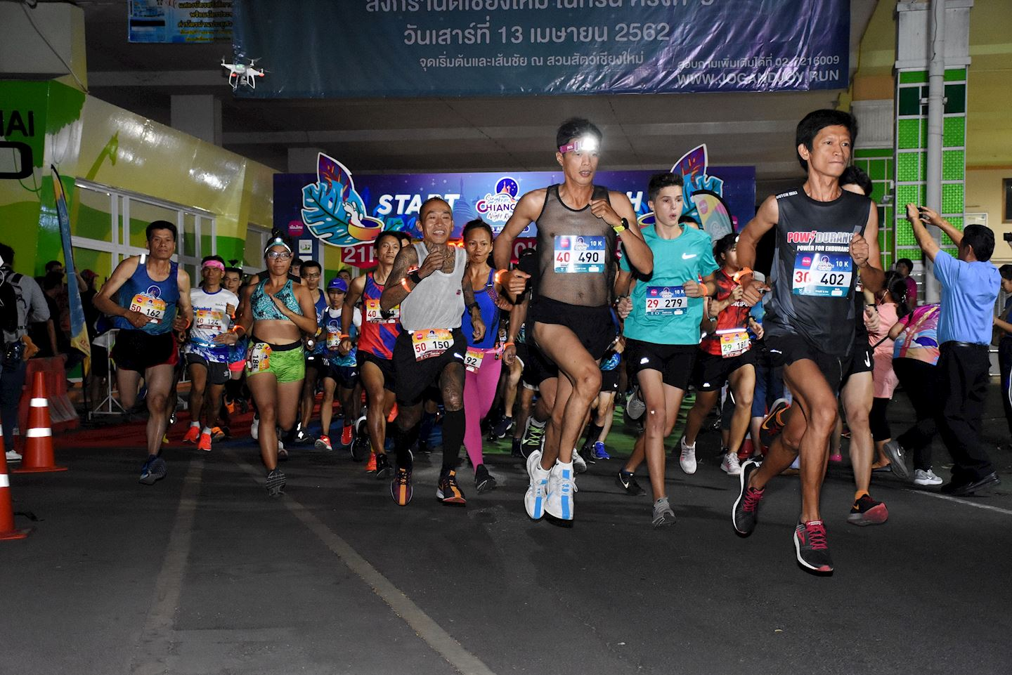 songkran chiangmai night run