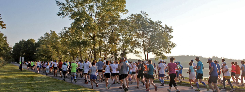 sri chinmoy half marathon at rockland lake