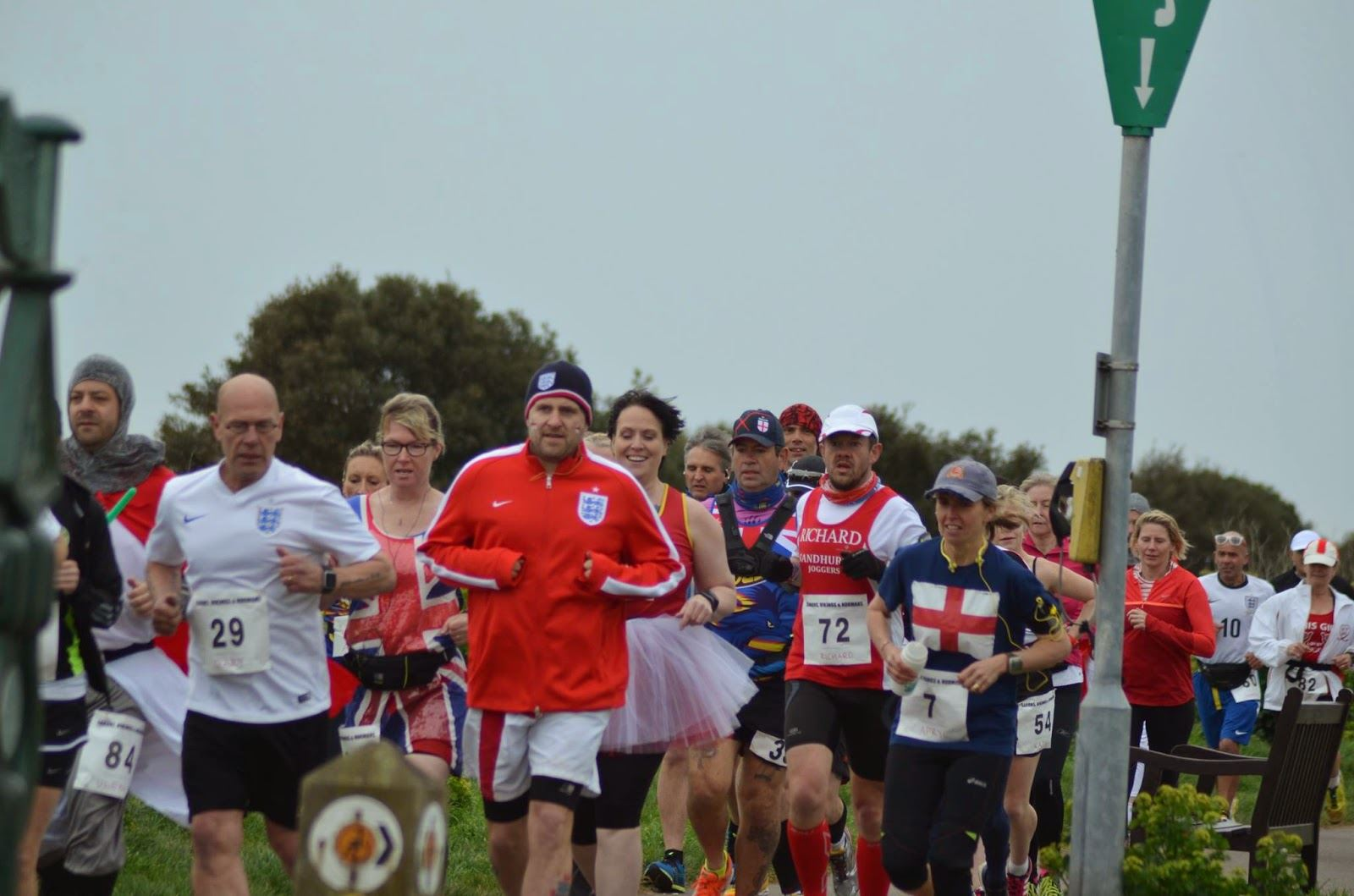 st georges day marathon