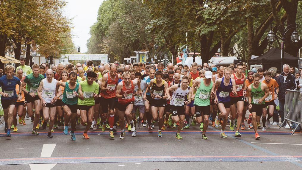 stadtwerke d sseldorf halbmarathon auf der k