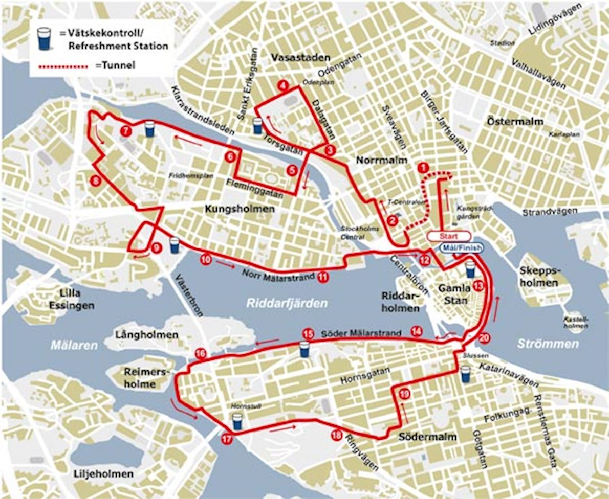 Stockholm Half Marathon, Sep 07 2019 | World's Marathons on