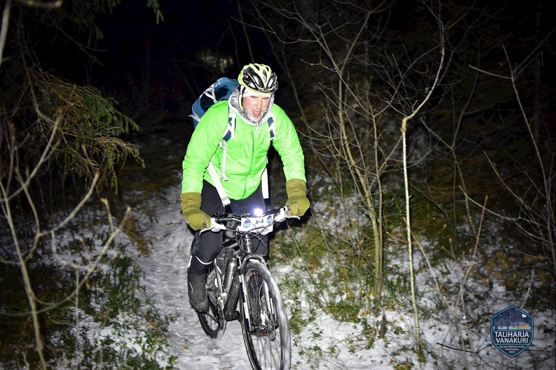 taliharja vanakuri winter ultra endurance race