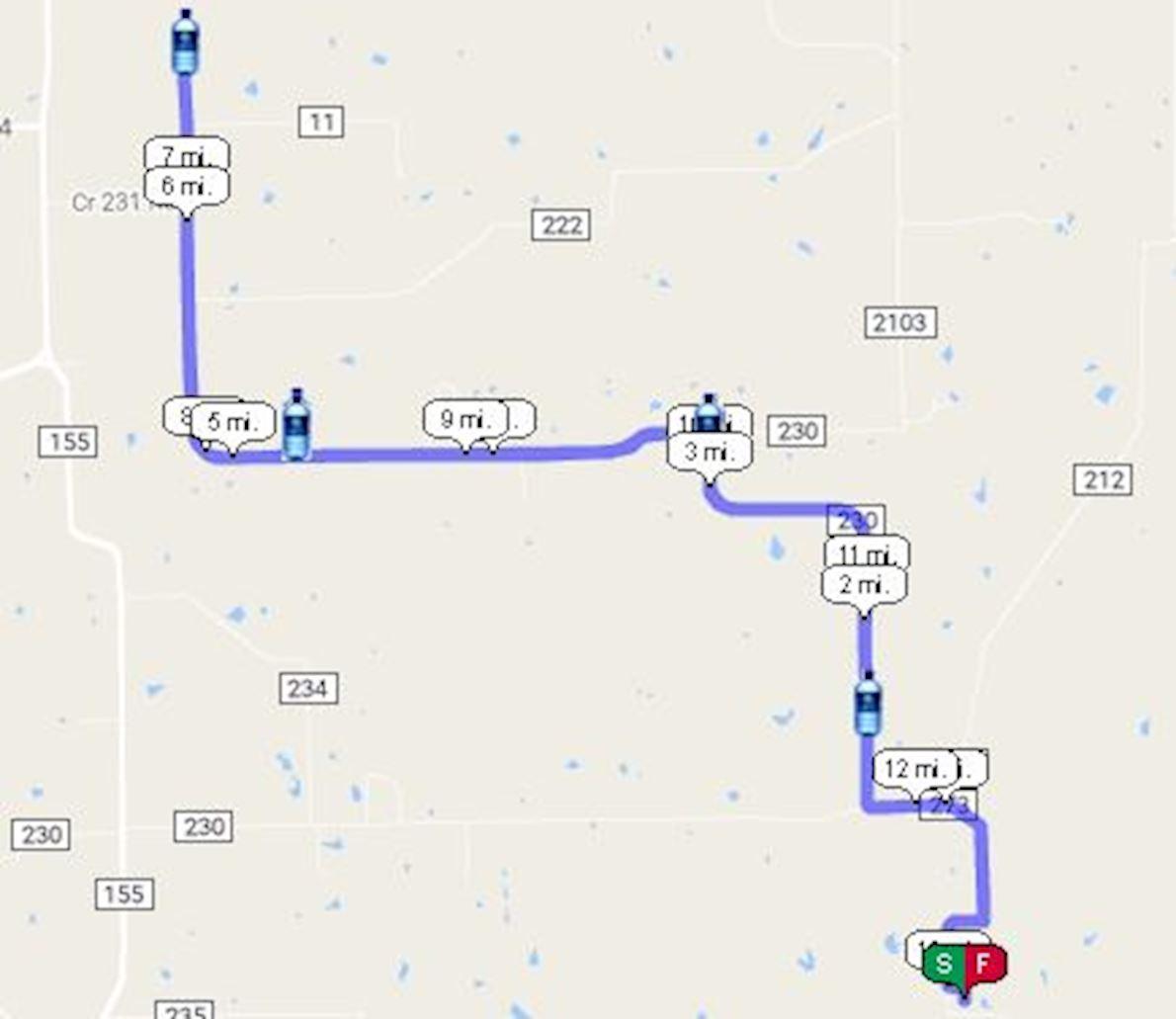Texas Wine Series at Whistling Duck Vineyard & Winery 路线图