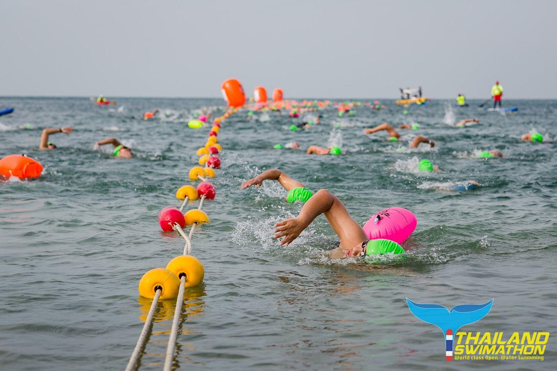 thailand swimathon sairee beach