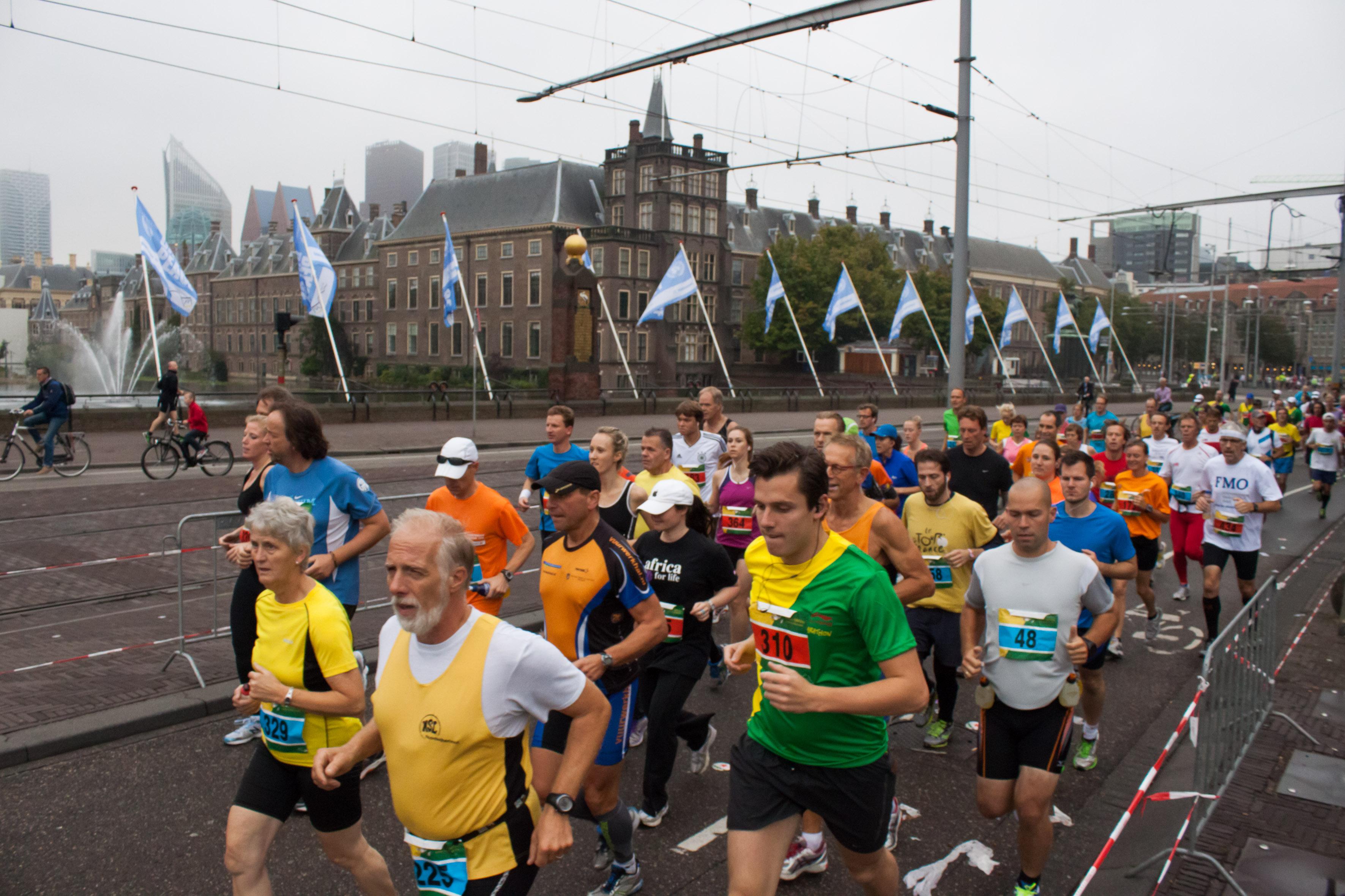 Alles over de The Hague Marathon Peace Marathon en hoe jij er aan mee kunt doen