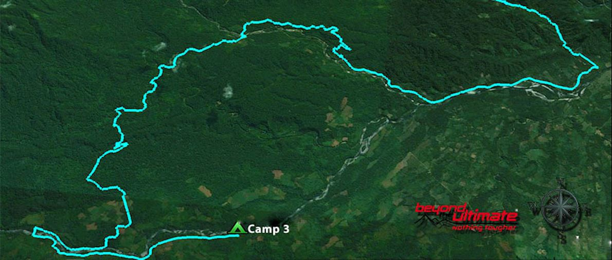 The Jungle Ultra Route Map