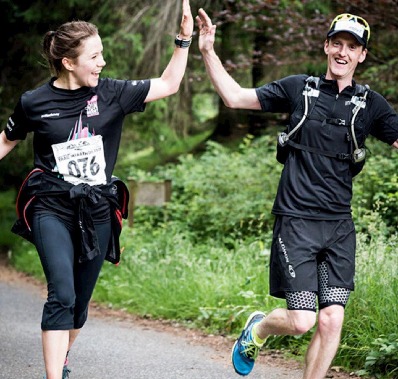 trail pursuit marathon half marathon 10k 5k