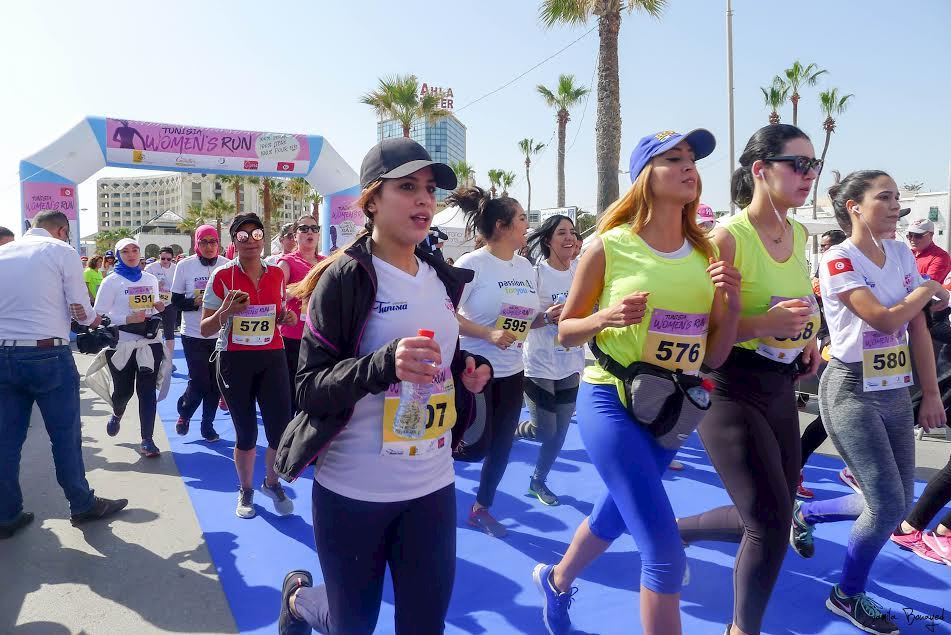 tunisia women run