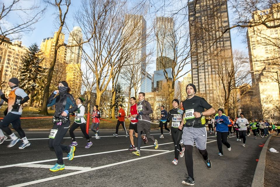 united airlines nyc half