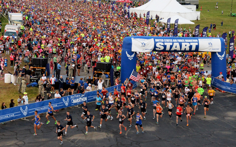 united states air force marathon