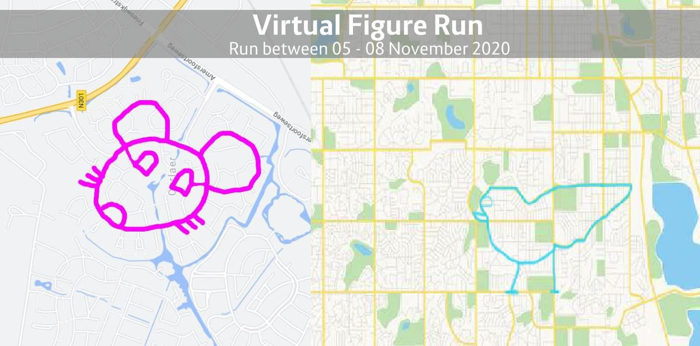 virtual figurerunning