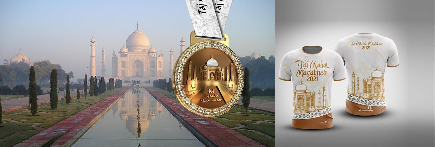 virtual taj mahal marathon